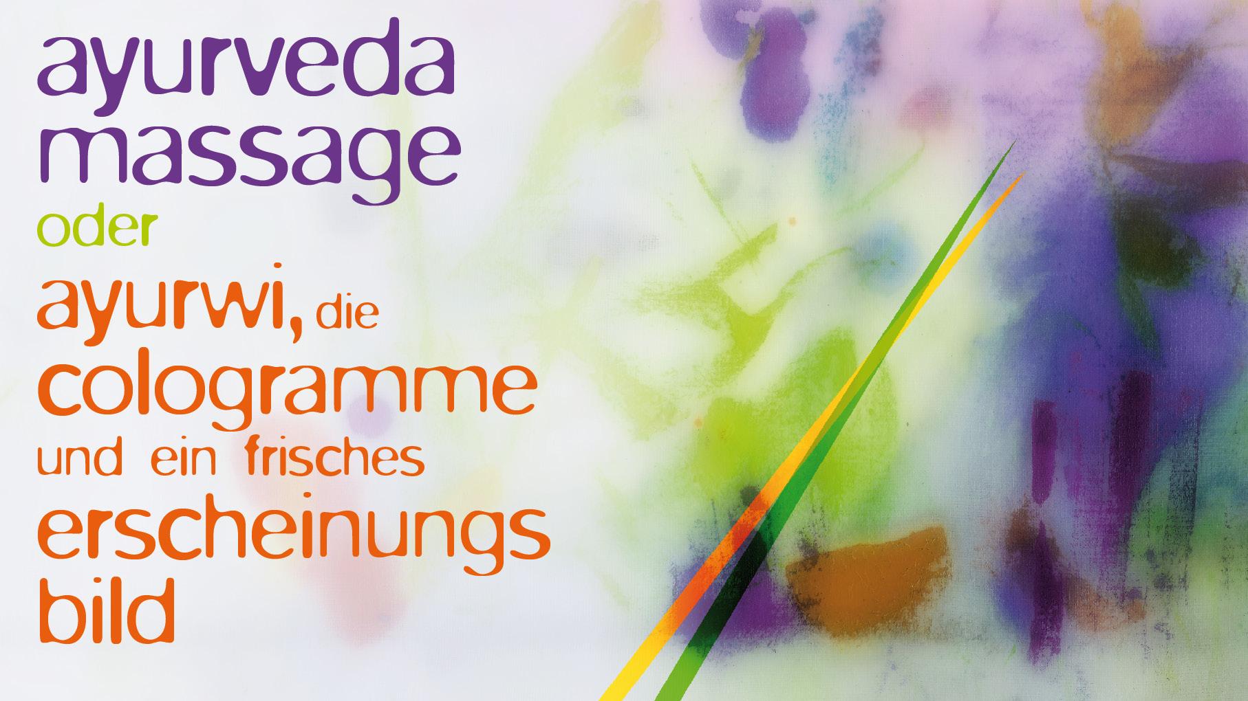 Frisch wie Zitronengras: Erscheinungsbild für eine Ayurveda Praxis.