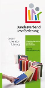 Flyer Lese- und Literaturpädagogik