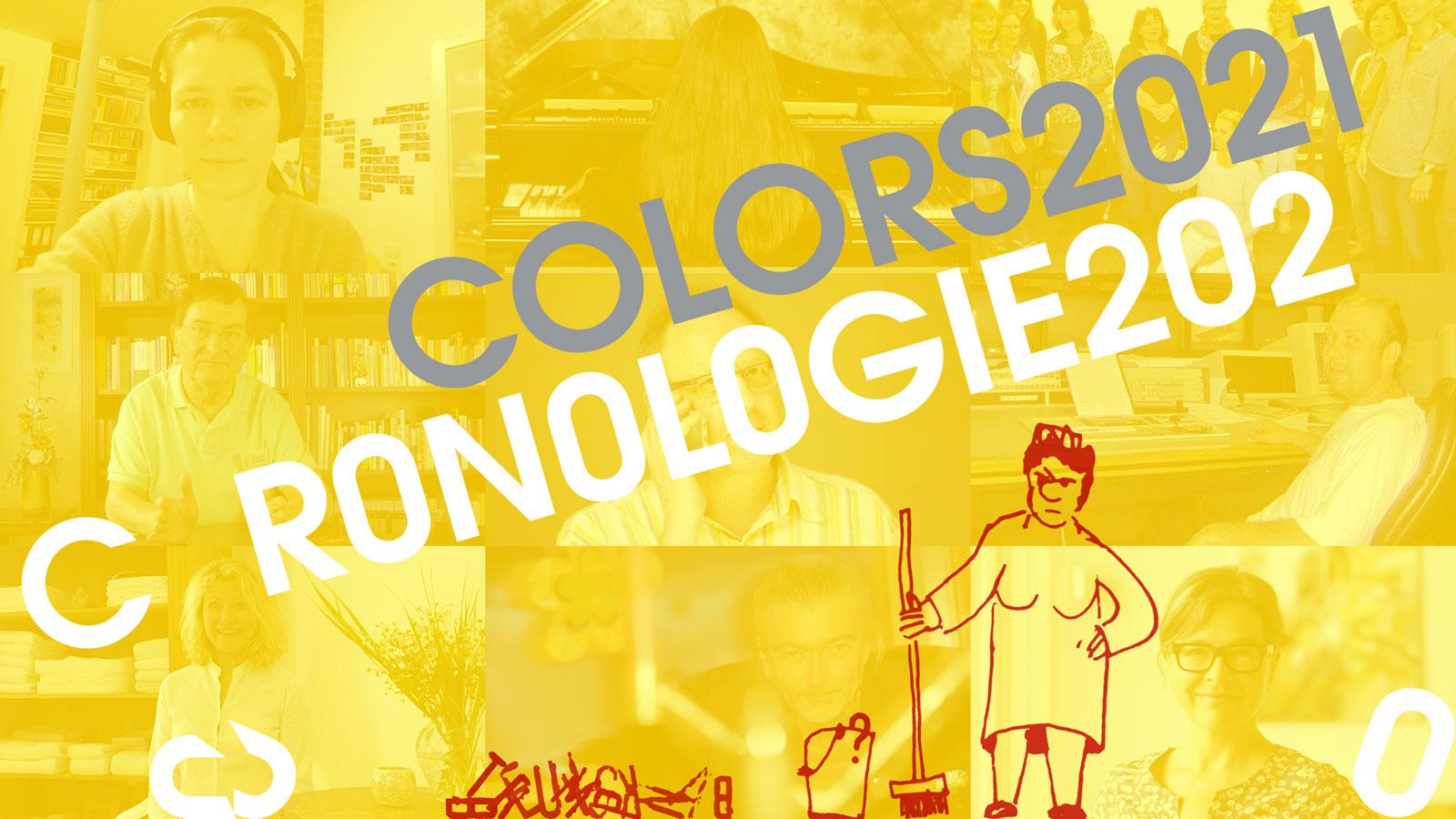 Coronologie 2020 – Farben 2021: Zuversicht und Mut