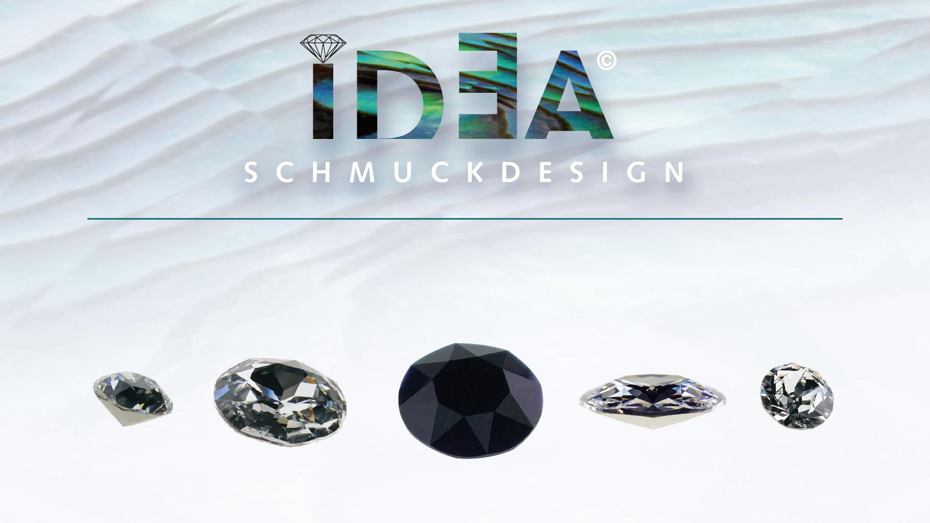 Brilliant ideas: Logo mit Feinschliff