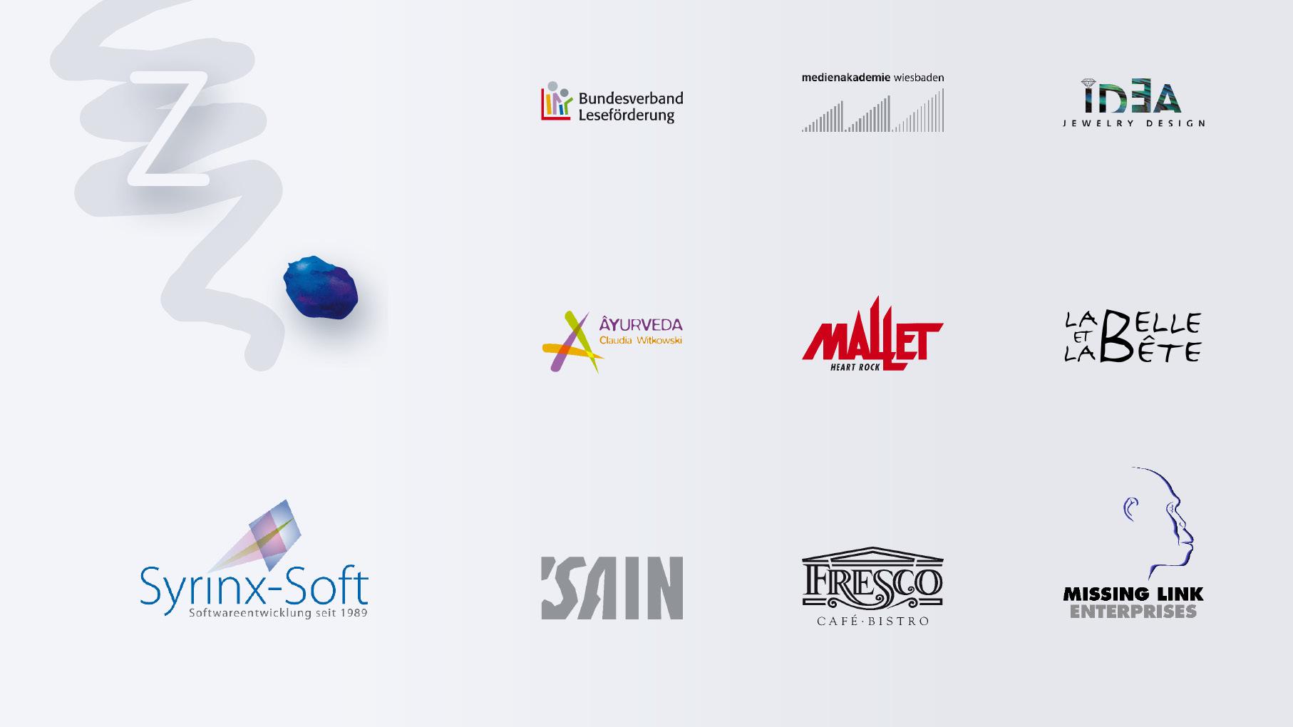 Logos made by zehmdesign 1981 bis 2020