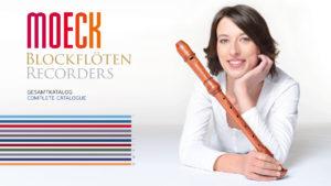 Blockflöten-Katalog im Lifestyle-Look