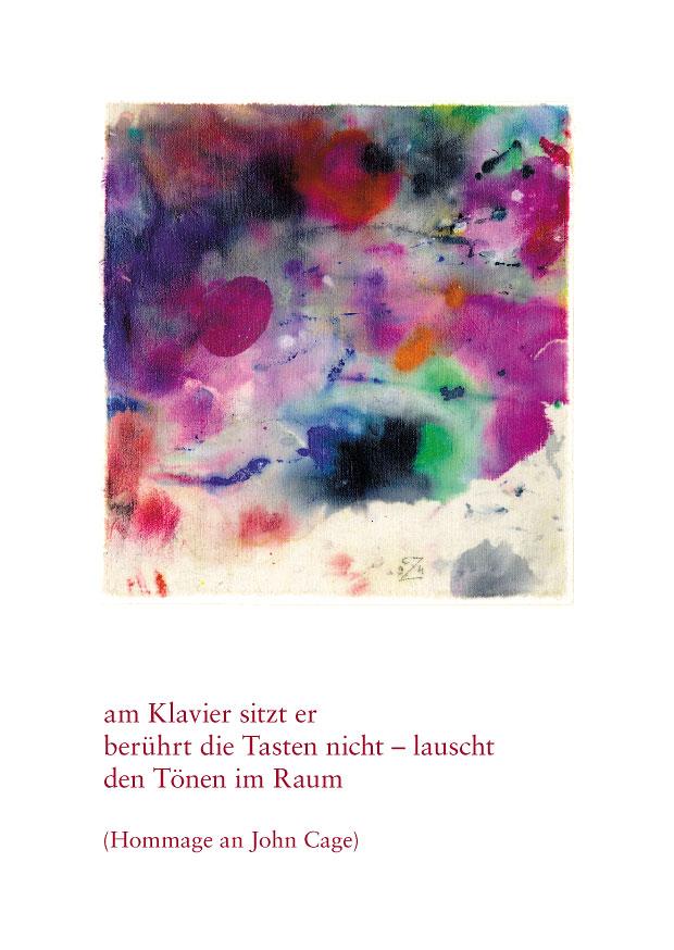 "Haiku Postkarte ""klavierkonzert"""