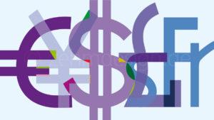 Money – Entwurf für eine Glaswand